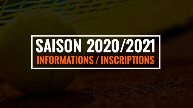 Saison 2020 – 2021 – Informations / Licences