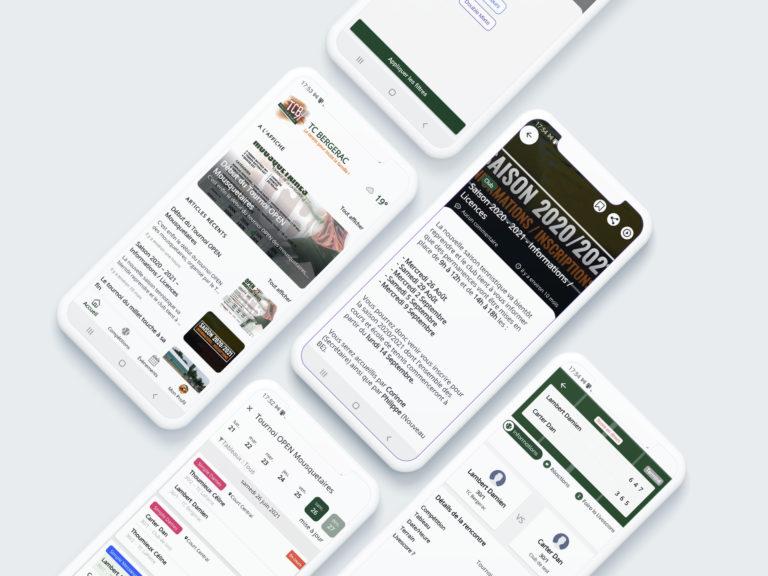 Nouvelle application mobile pour le TCB